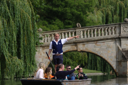 Shared Punting Tour Cambridge