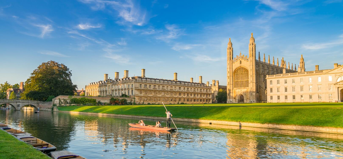 punting cambridge to grantchester